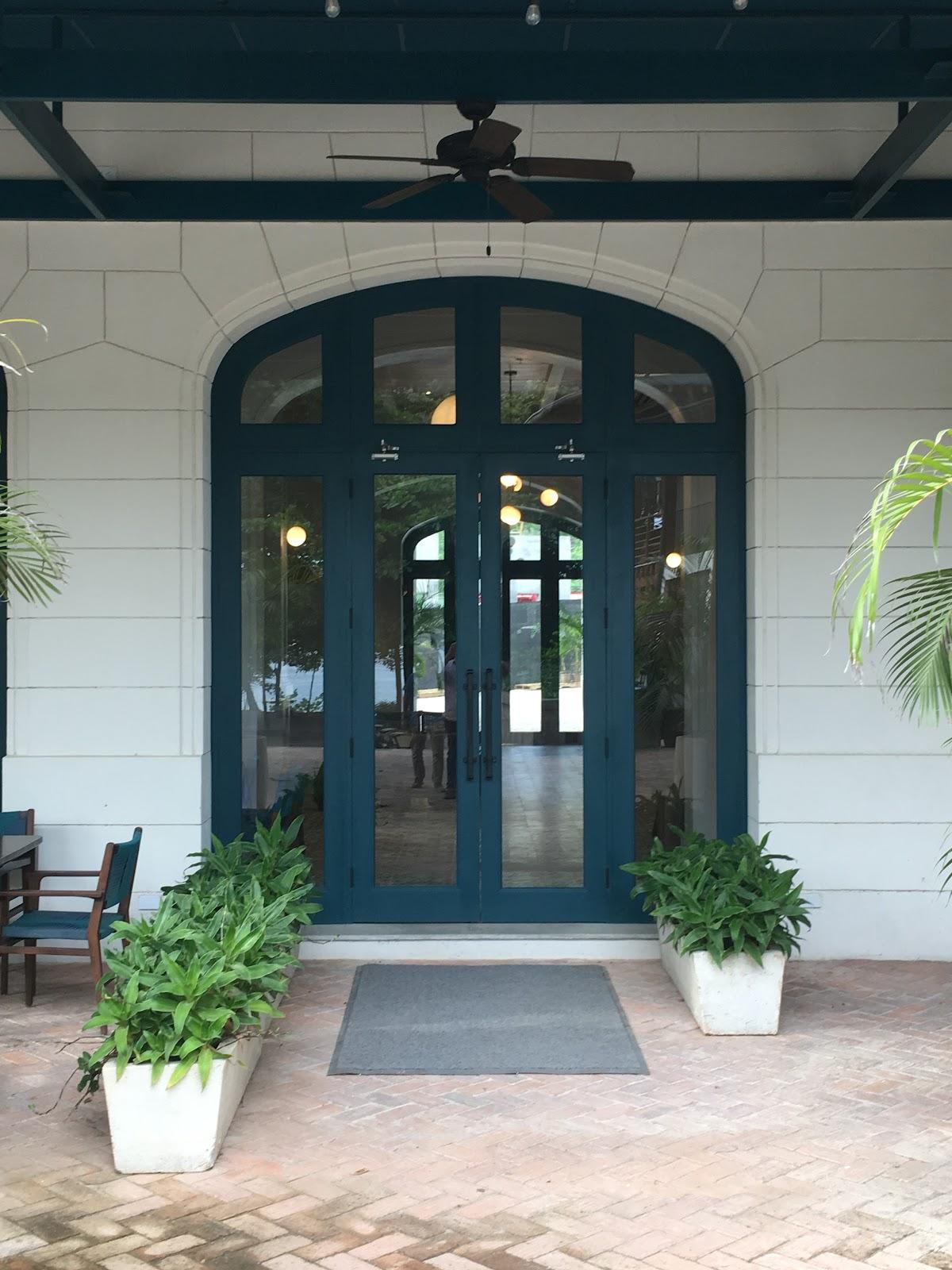 Santarena Hotel Front Door