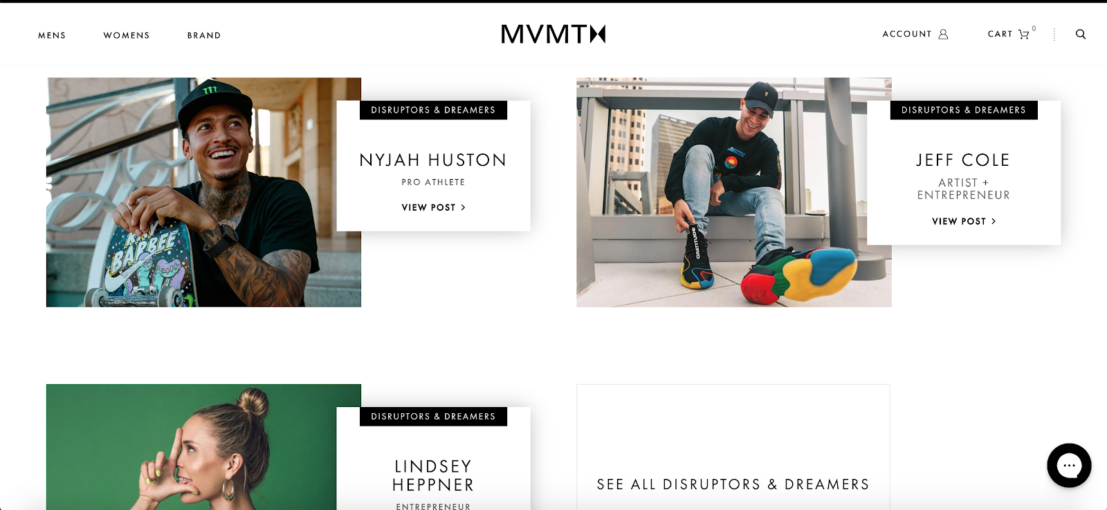 MVMT Influencers (DTC Growth)