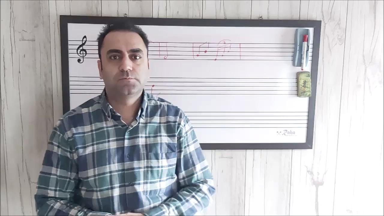 ۳۵ آموزش وزنخوانی کتاب ریتم در موسیقی ایمان ملکی