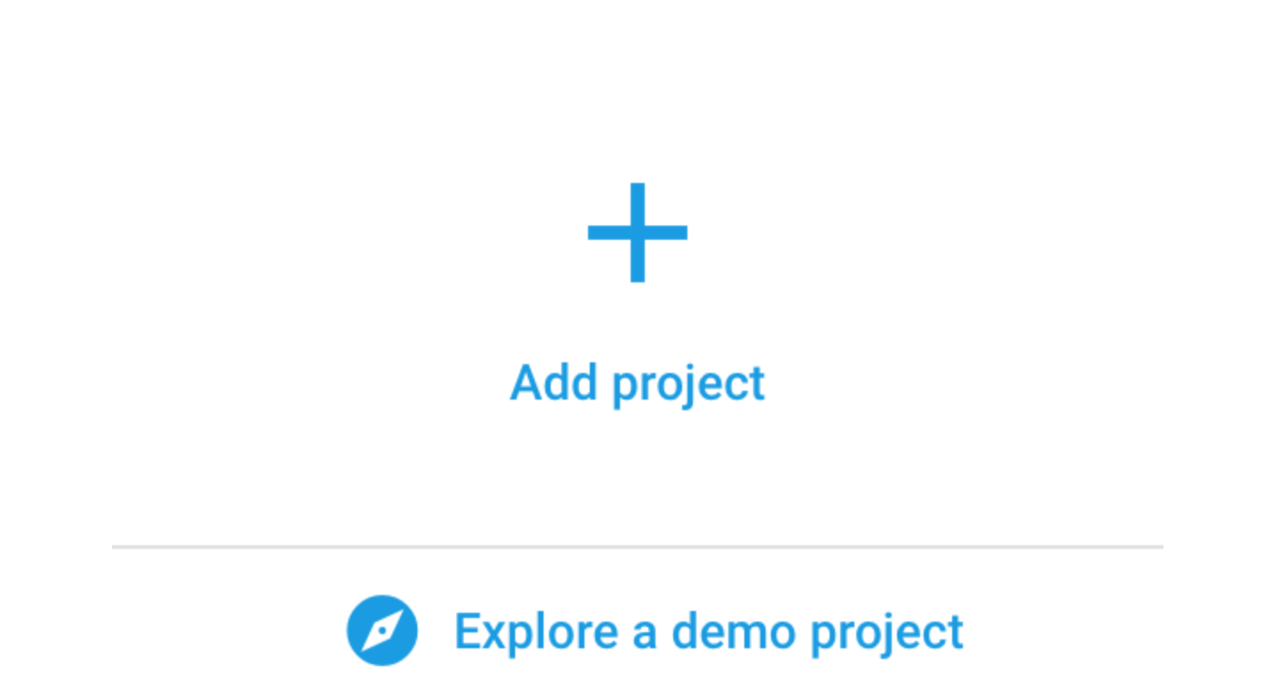 Add a project in Firebase console