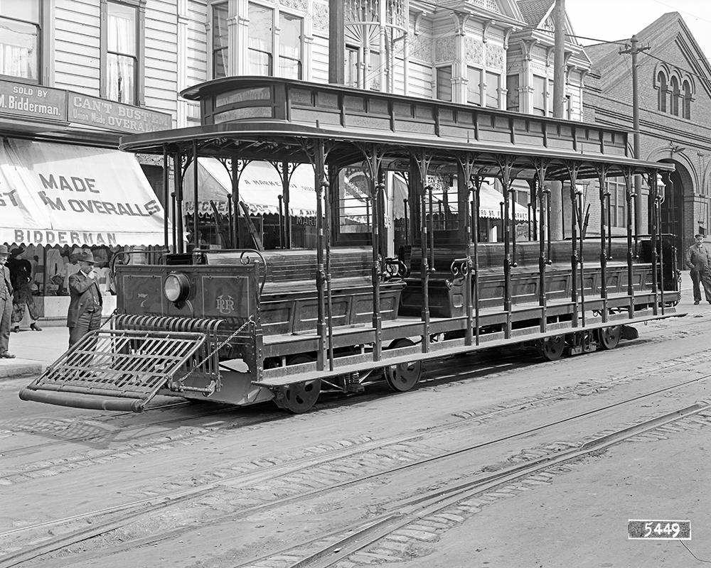 San Fransisco cable-drawn cars