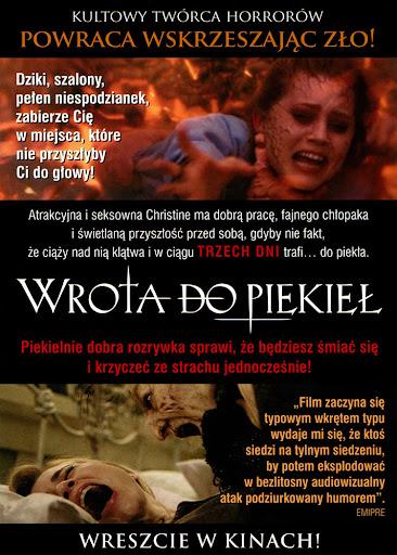 Tył ulotki filmu 'Wrota Do Piekieł'