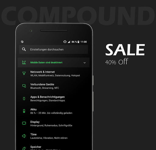 Compound for Substratum (Android Oreo/Nougat)- screenshot thumbnail