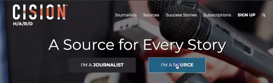 You may choose either to be a journalist or a source.