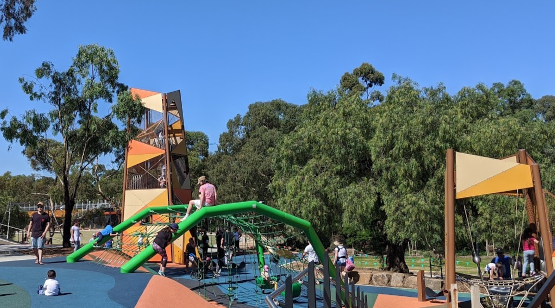 100 things to do in melbourne with kids wyndham park playground werribee