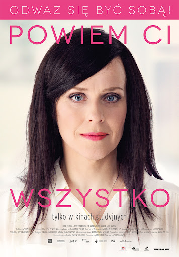 Polski plakat filmu 'Powiem Ci Wszystko'