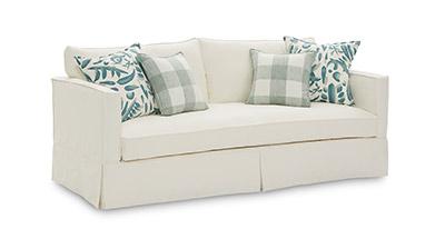 Love seat with single cushion; sofa buying guide MGSD