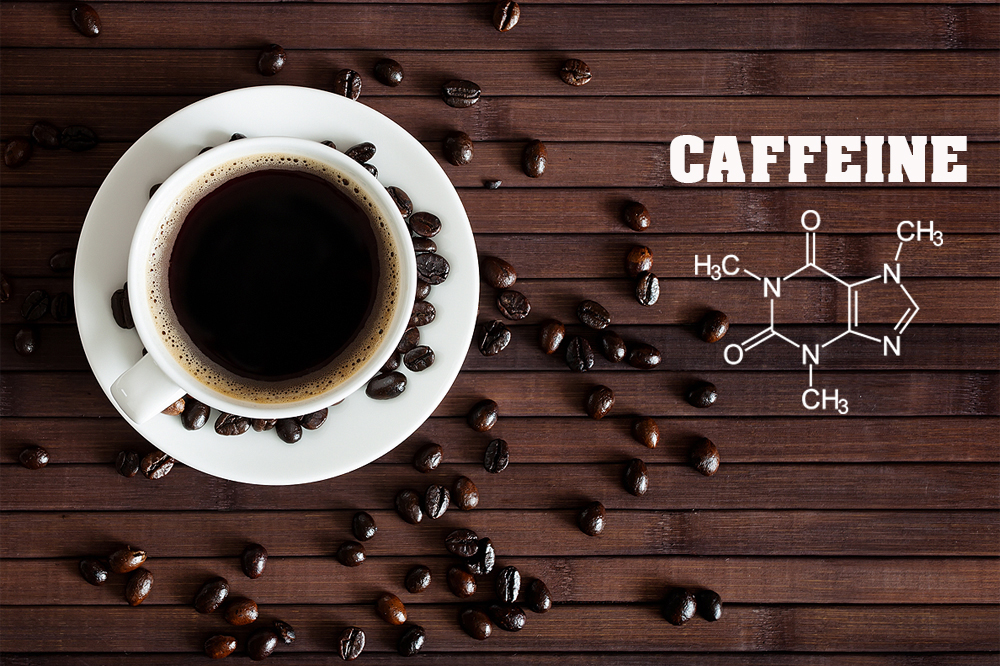 Image result for chemical makeup of caffeine