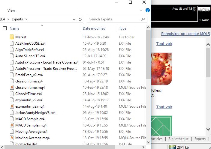 MQL4 fichier