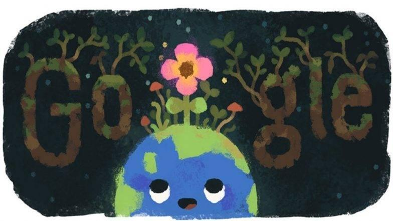 Image result for 2. Google Doodle for onset of Spring