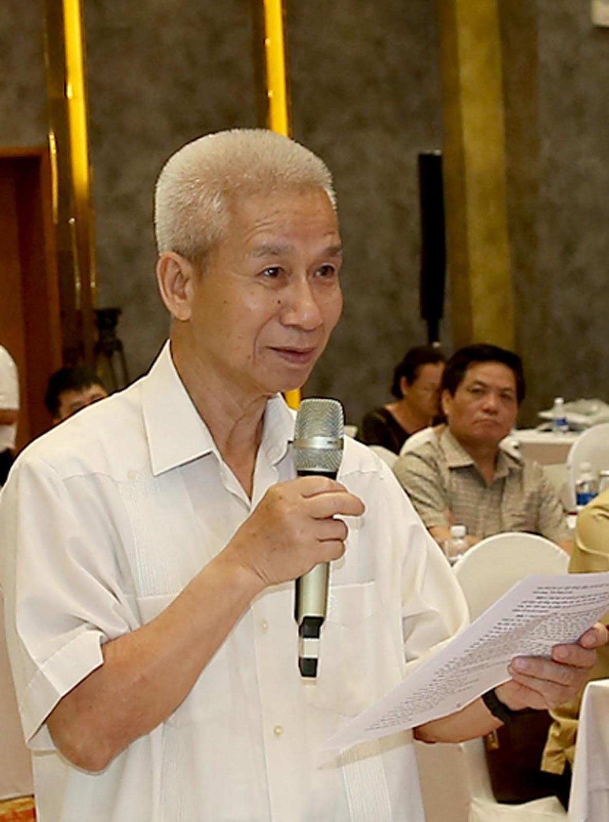 Ông Lê Quốc Trung, Nguyên Phó Chủ tịch Thường trực Hội Nhà báo Việt Nam. Ảnh: Sơn Hải
