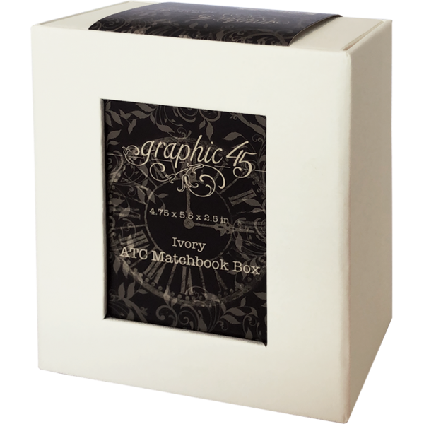 ATC Matchbook Box - Ivory