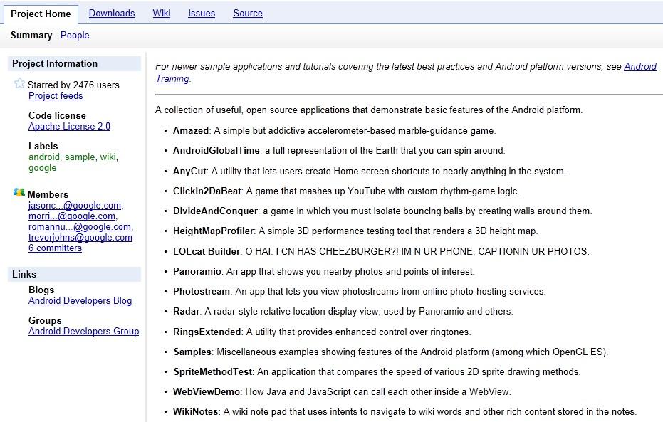 안드로이드 앱 개발에 유용한 오픈소스 사이트 소개-1