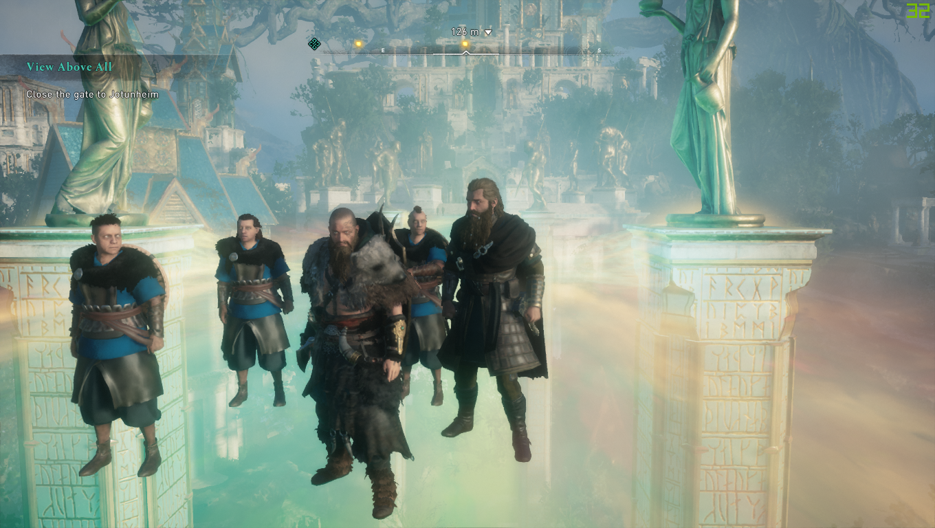 Screen Capture from Ubisoft's Assassin's Creed Valhalla