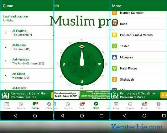 Muslim pro app for Ramadan