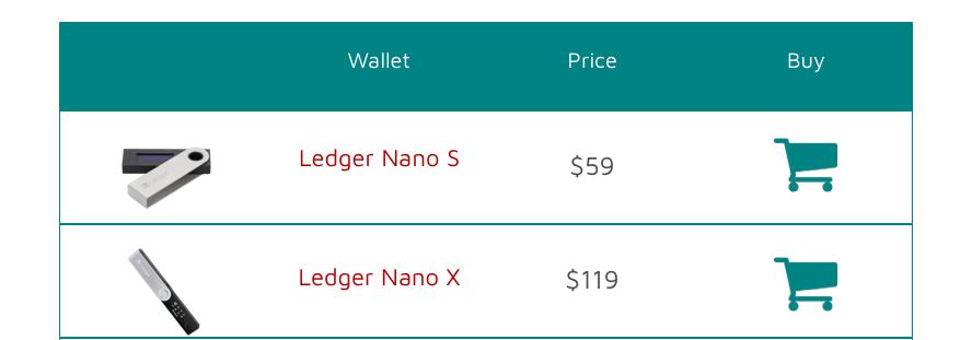 ledger price