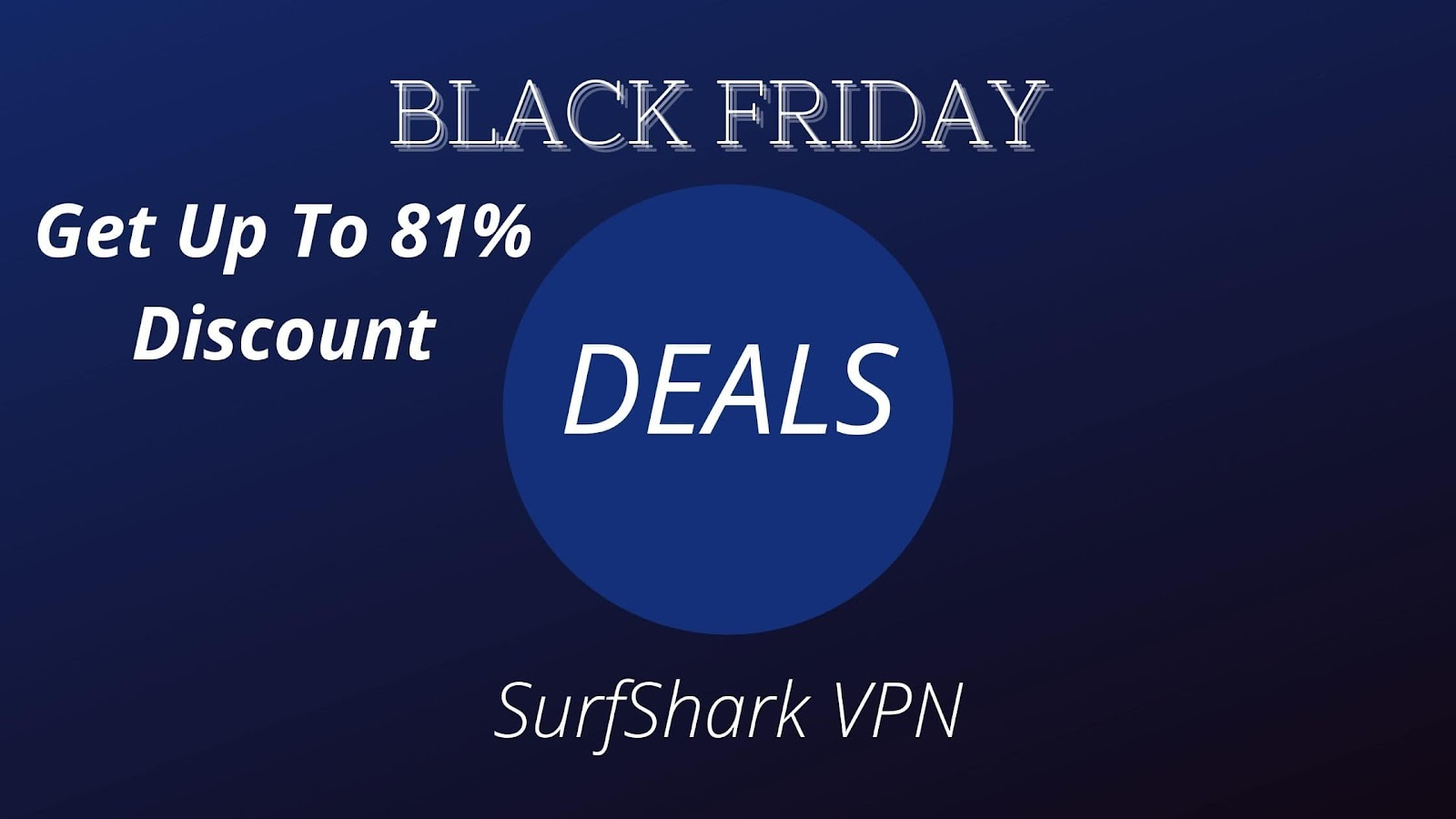 SurfShark VPN: Get Up TO 81% Off
