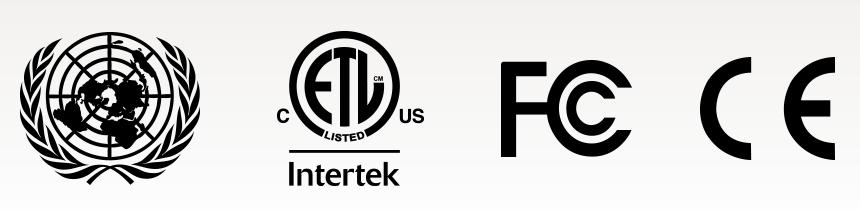 símbolos de calidad certificada