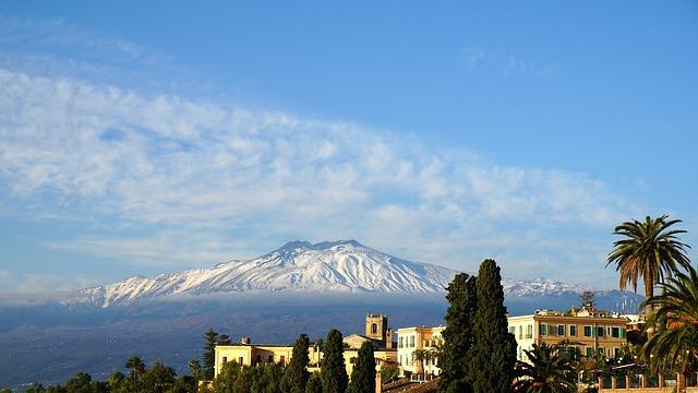 Mount Etna (Credit - Pixabay)