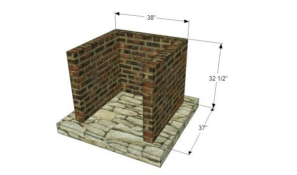 How to Build a Brick Barbecue At Home