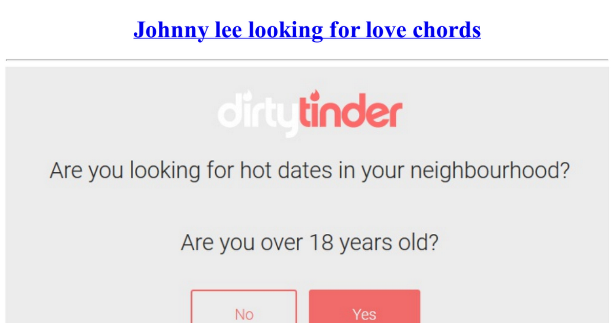 Johnny Lee Looking For Love Chordspdf Google Drive