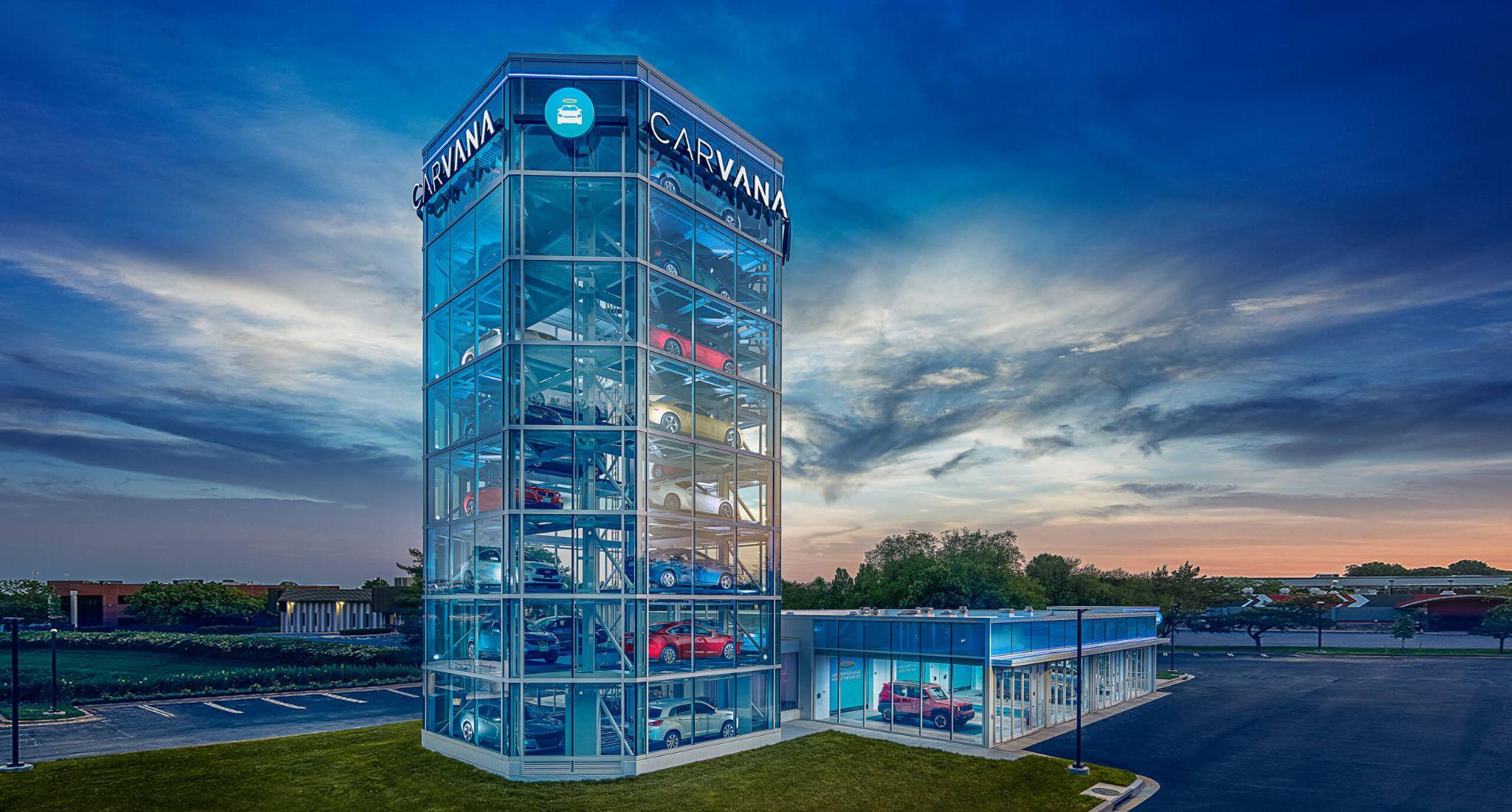 Car vending machines
