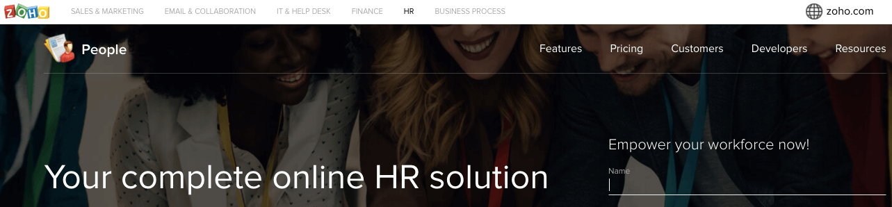 Zoho People - HR Software app