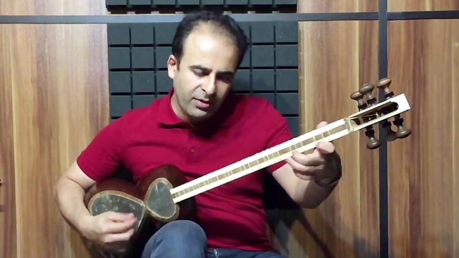 فیلم آموزش تصنیف به شب وصلت (شب وصل) دستگاه ماهور غلامحسین درویش خان تار نیما فریدونی