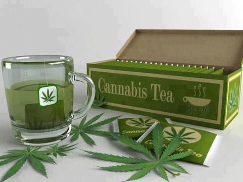 wake and bake with some cannabis tea