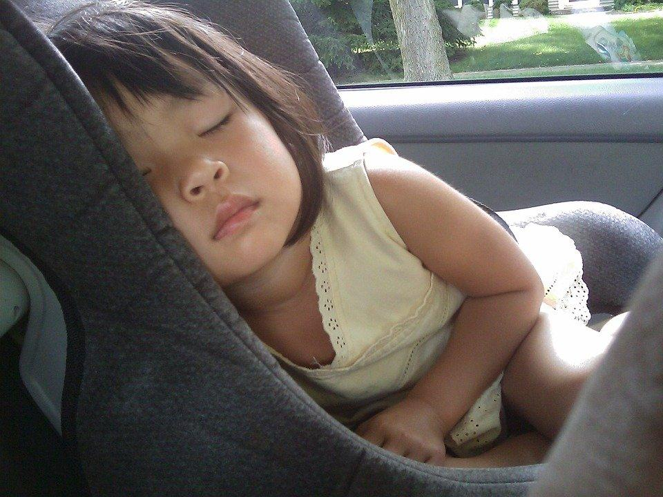 Child, Sleeping, Car Seat, Girl, Baby, Childhood, Comfort
