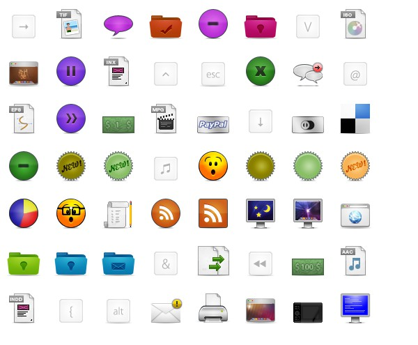 icon thiết kế web