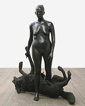 Kiki Smith, Rapture, 2001, bronze, 67-1/4 x 62 x 26-1/2 inches, edition of 3,  © Kiki Smith