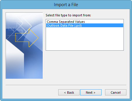 How to Import PST File in Outlook 2013 Manually