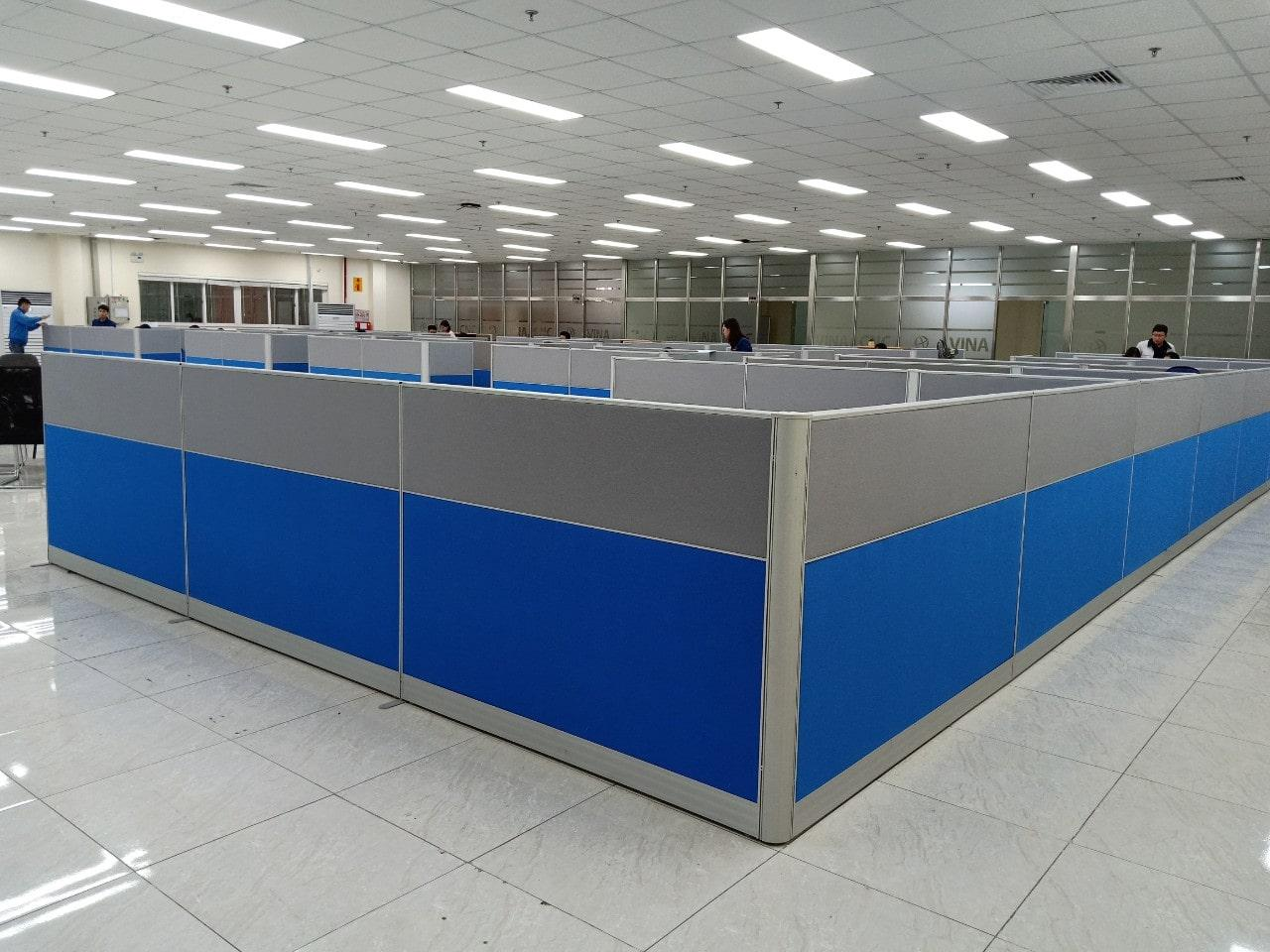 Vách ngăn văn phòng nỉ VNN09 - Dự án tại khu công nghiệp Đại Đồng, Bắc Ninh