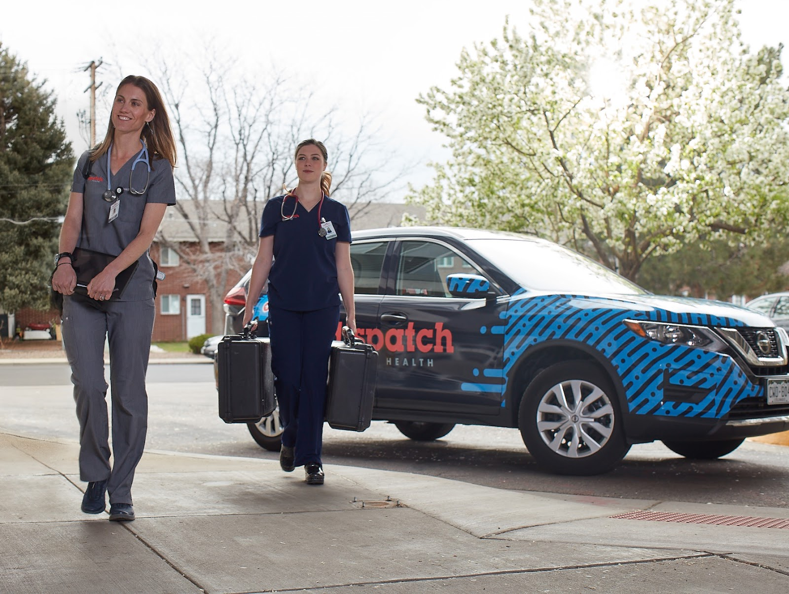 DispatchHealth workers on call