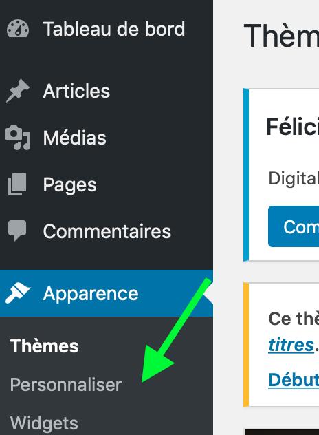 Wordpress-personnaliser