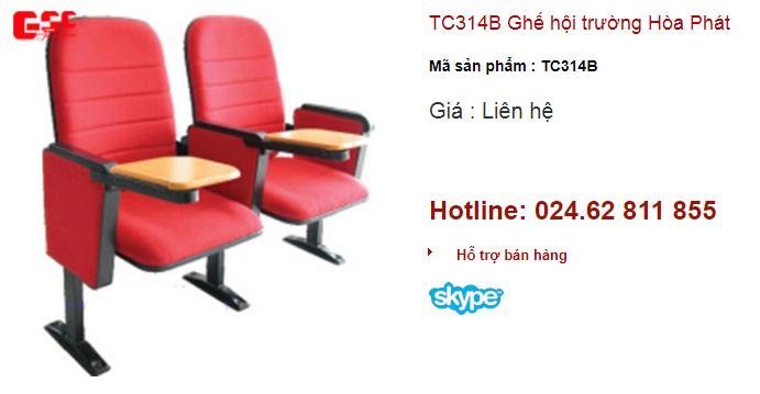 Ghế hội trường Hòa Phát mã sản phẩm TC314B