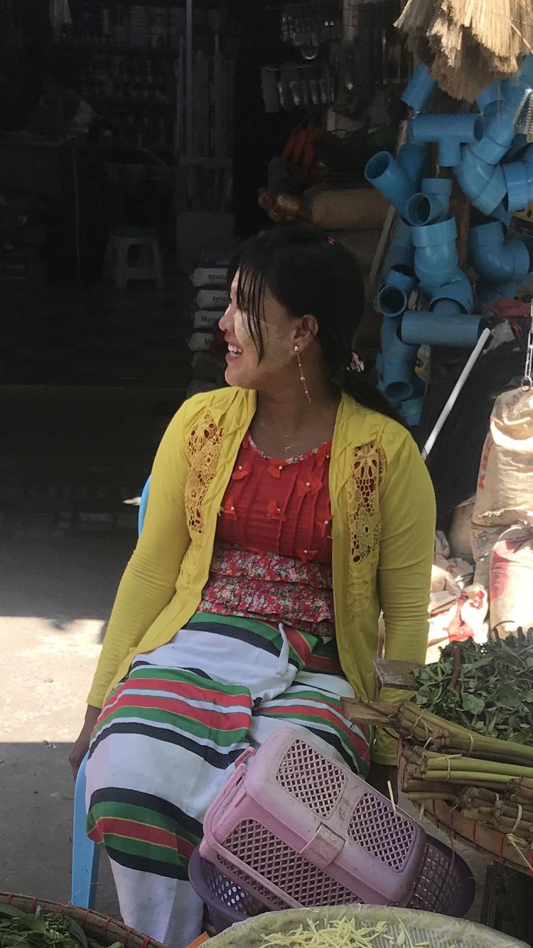 A Burmese local.