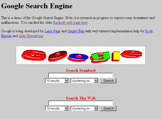 Lịch sử biểu trưng Google: Sự tiến hóa mạnh mẽ qua 20 năm 1