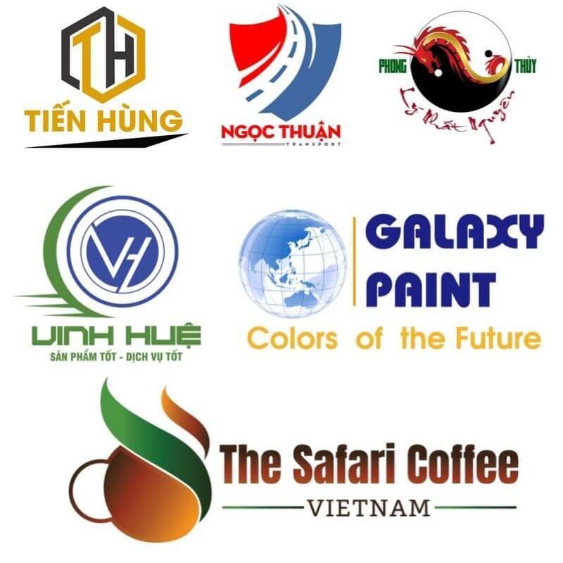 Các sản phẩm thiết kế logo đã thực hiện tại Rubic