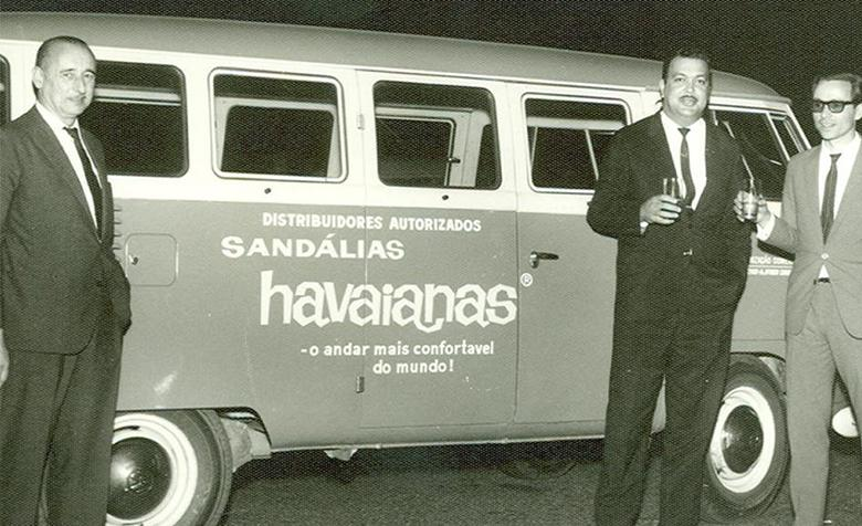 Havaianas Salesmen would sell Havaianas directly from their van