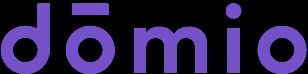 Domio's logo.