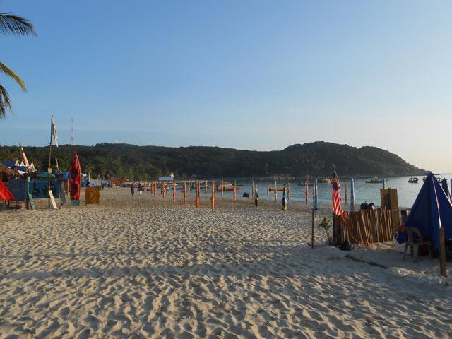 Pantai Pasir Panjang, Pulau Perhentian Kecil, Terengganu.