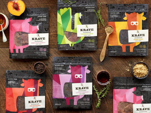 How the right packaging can be a $200 Million Decision  KRAVE Jerky Branding and Packaging Design by Hatch Design SF