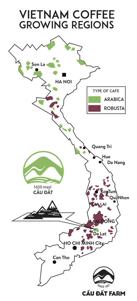 Vietnam Coffee trail
