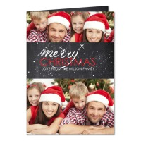 Personalised Christmas Card - Getting Personal