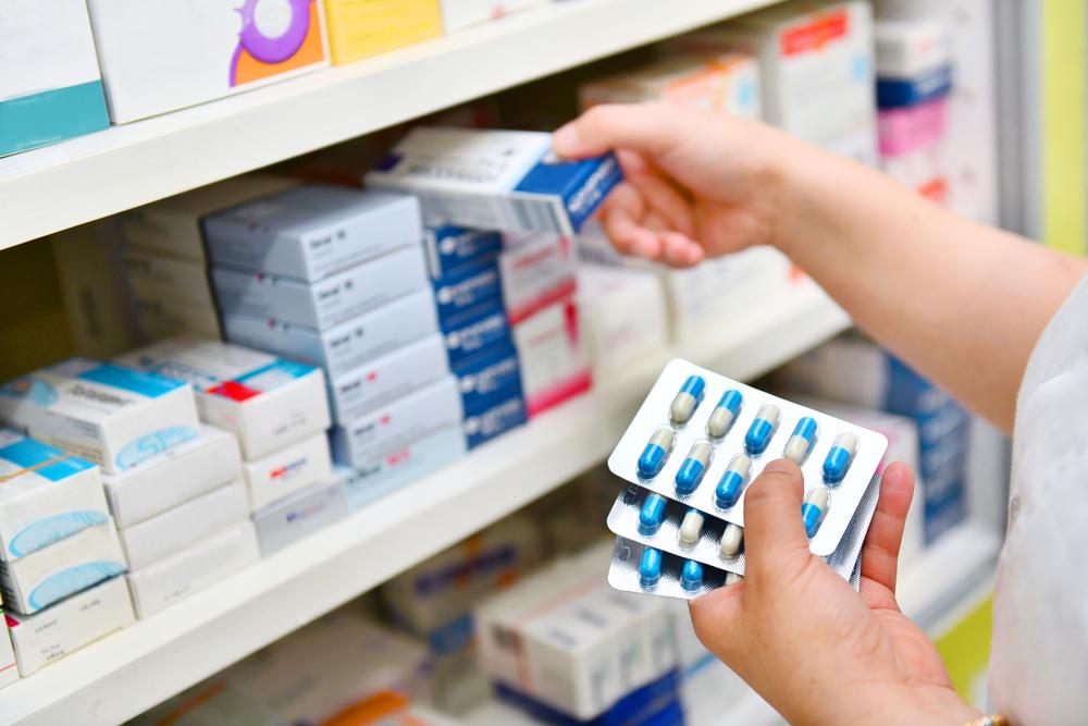 As tarjas são uma forma facilitada de visualizar as regras por trás de cada medicamento. (Fonte: Shutterstock)
