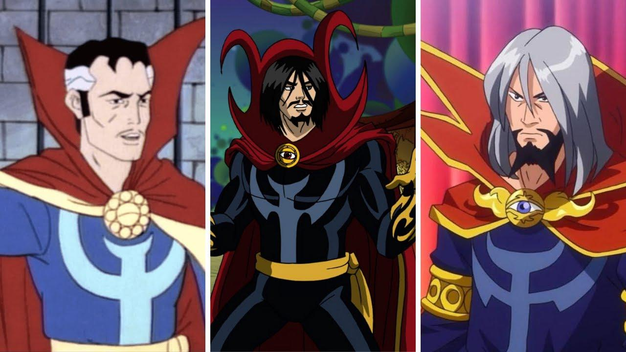 EVERY DOCTOR STRANGE Appearance in Cartoons and Movies (1981-2019) - YouTube