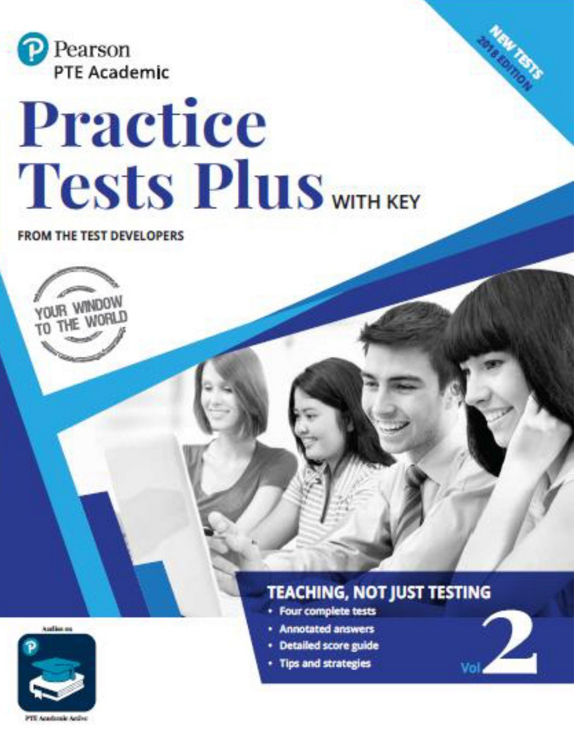 PTE book - practice tests plus 2