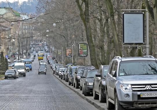 Проблема парковки возле бизнес-центров в Киеве